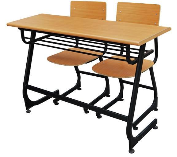 双人课桌椅 MSD-KZY-S08