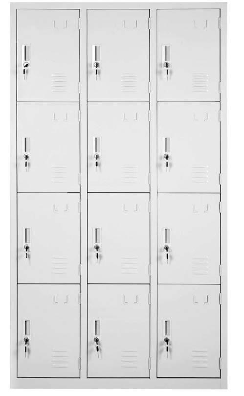 全钢十二门门更衣柜MSDGYG-QG12
