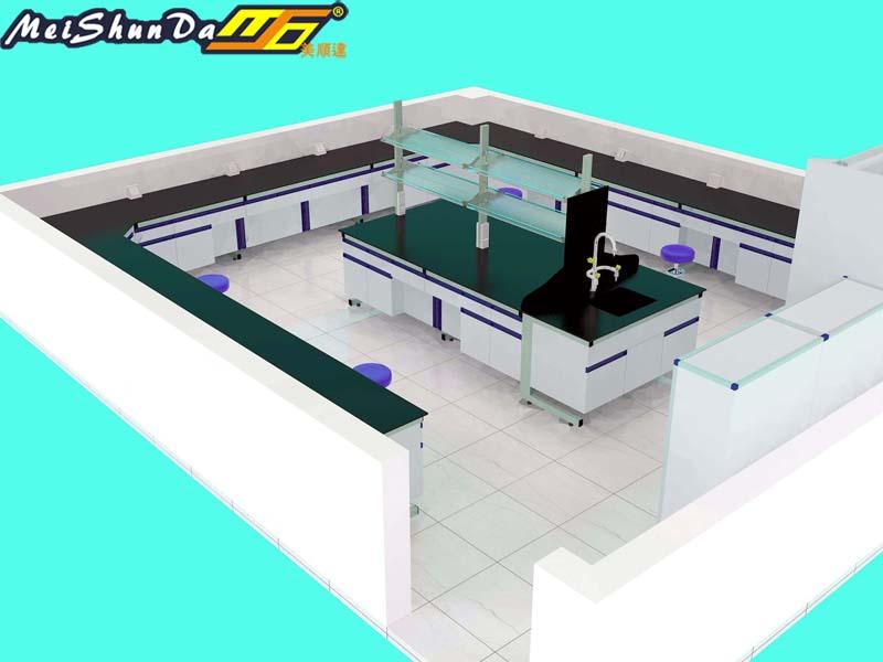 美顺达代工实验室三维效果图2